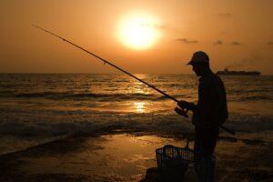 Pêcheur mer